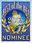 Bestweb nominee 2005