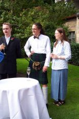 Craig, John MacSporran & his betrothed Miss Su Hoyle
