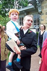 Craig with his lovely son Edward
